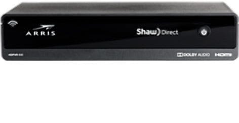 recepteur enregistreur Shaw Direct