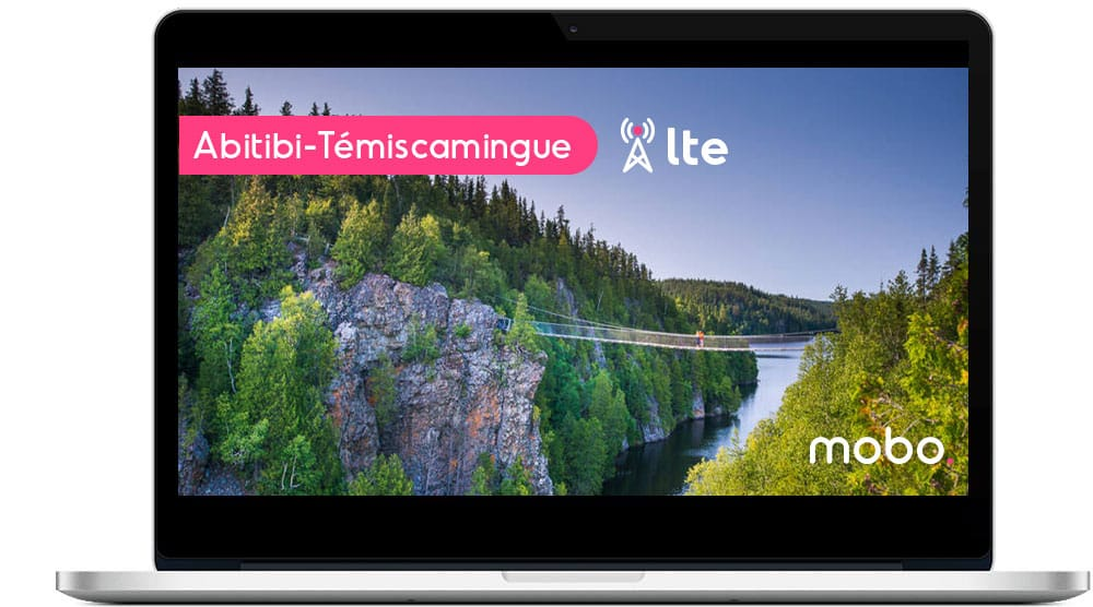 New LTE internet antenna in Abitibi-Témiscamingue